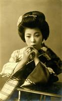 Melancholy, mournful, emotional, sad, traditional Japanese track, featuring Shamisen and Koto.