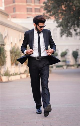 Music for that feeling when you're dressed so sharp and look a cut above the rest. Track features a funky rock and roll swing feel.